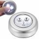 Lampe auto-adhésive à 3 LED à piles