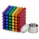 Magnetic neocube balls rainbow color box 216 5mm