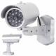 Caméra factice Caméra de nuit extérieure à LED IR
