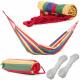 Garden hammock rocker, colorful cover 200x80