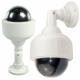Caméra de surveillance extérieure LED factice