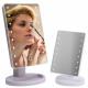 Grande specchio cosmetico illuminato a 16 LED