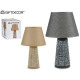 stylized abstract ceram lamp, 2 times assorted