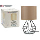 modern forged lamp tulip beige