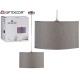 lampe suspension plafond 35cm gris
