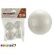set of 4 balls 5cm polystyrene crafts