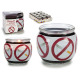 scented candle glass jar anti tobacco