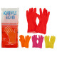 plastic gloves size xl 4 times assorted