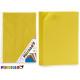 Satz von 10 Blatt gelb Eva Gummi 45x65cm