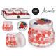 assainisseur d'air gel boules fruits rouges 34