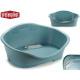 medium blue plastic pet bed