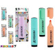 assorted fluorescent marker 5 pastel colors