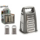 plastic grater 2 times assorted white pla
