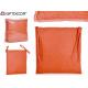 coussin de chaise 37x37cm orange