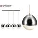 transparent quadruple ball lamp line