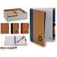 notebook 12x16cm colori di riciclaggio 4 volte ass