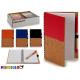 Notizblock 12,5x18cm Holzplatte 4 fach sortiert 14