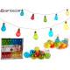 led strip 8 colored bulbs