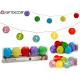 led strip 10 colored paper lanterns