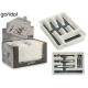 plastic cutlery compartment 5 compartic silico bot