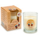candle glass 30h glass refreshment cola