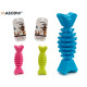 Pet silicone teether candy, 3 times surti