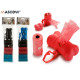 set of 7 hygienic bags 3 colors and dispenses