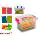 set of magic sand and molds large briefcase s