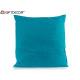 60x60 turquoise canvas cushion
