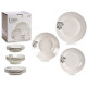 porcelain tableware 18 pieces menu