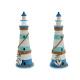 lighthouse wood anchor 53cm 9 leds