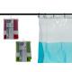 tenda da bagno 180x180cm, colori 3 volte assortito
