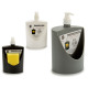 plastic soap dispenser, dark colors assorted