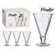 conical high ice cream cup 30cl