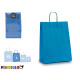 medium blue paper bag