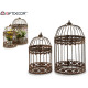 set of 2 cages round forge rust