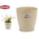 natural flowerpot inter / exter 19 diameter camel