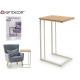 multifunctional metal table white legs