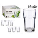 set of 6 glasses mojito 32cl