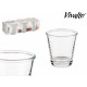 set of 6 9cl coffee glasses