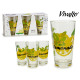 set of 3 glasses refresco limon 31cl