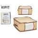 Box speichert alle 45x45x20cm natürlichen Farben