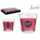 Kerzenglas Apfel und Zimt 50h