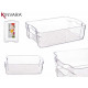 Plateau organisateur frigo transparent 32x21