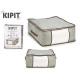Box hält Kleidung grau 45x45x20cm
