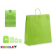 large light green paper bag