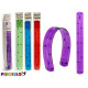 flexibel linjal 30 cm, färger 4 times assorted