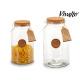 tappo per bottiglia di vetro 16x16x29 cm