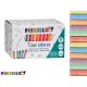 box of 100 colored chalk