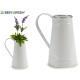 white milk jug phyllo silver